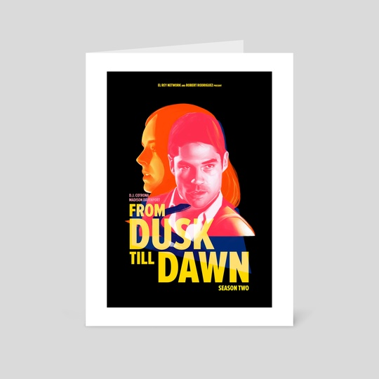 From Dusk Till Dawn II - Seth & Kate by Carina Tous