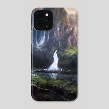 The Falls of Nimrodel - Phone Case by Julian Bauer