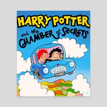 chamber of secrets - Canvas by George Mager