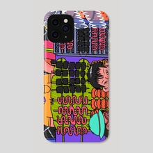 I saw isaw - Phone Case by Cyrill Acuña