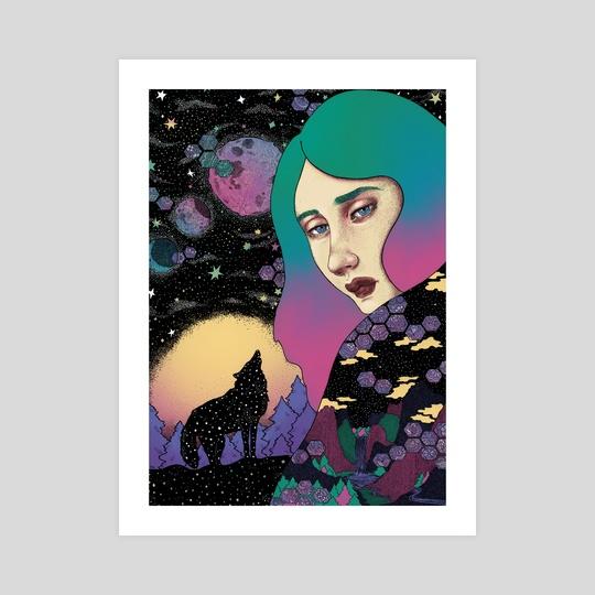 Midnigh Wolf by Fernanda Maya