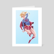 Girl of Steel - Art Card by Minh Pham