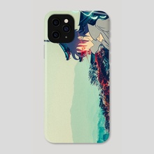 Sasuke  - Phone Case by Tyler Vasquez