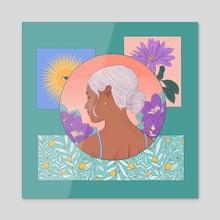 Tranquil - Acrylic by Stephanie Singleton