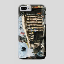 Reflection of city - Phone Case by Dmytro Rybin