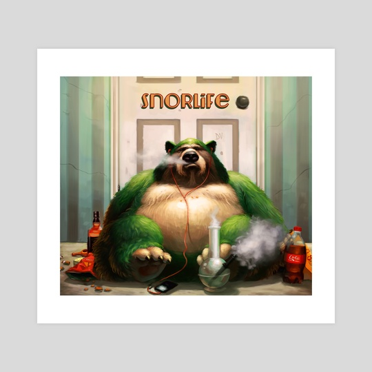 Snorlife by Dylan Vermeul