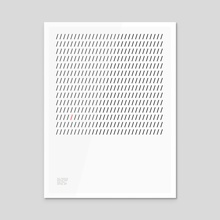 Helvetica Poster - Acrylic by Matthew Curry
