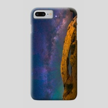 Mesa Arch Milky Way - Canyonlands National Park by Abdul Dremali - Phone Case by Abdul Dremali