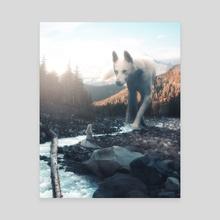 Territory - Canvas by Anttoni Salminen