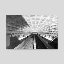 Commute - Canvas by Alex Tonetti
