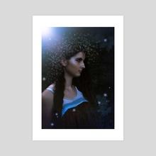 Star Maiden - Acrylic by Sarah Beth Smith