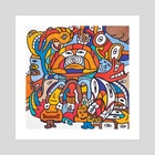 Inca - Art Print by Brad Franco