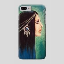 girl goddess - Phone Case by Nikolay Chochrin