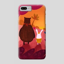 Sunset in the woods - Phone Case by Denise Turu