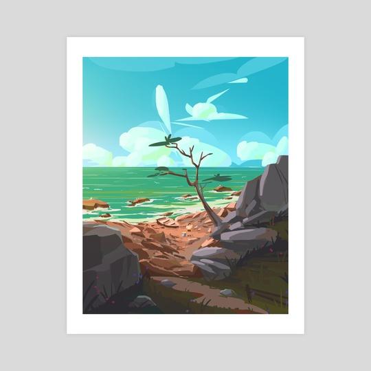 Island Explorer by Arina Mochalova