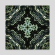 PlitviceLakeStudy #2 - Canvas by Naima White