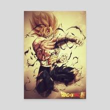 Goku ssj hyperbolic time chamber  - Canvas by Yann Embry0dead_art