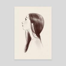 Hopeful - Canvas by Jen Bricking