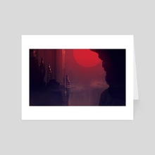 Dead City - Art Card by Henrik Debner