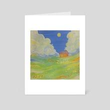 Dreamland - Art Card by Titsay