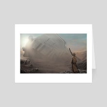 jakku - Art Card by Miguel Blanco