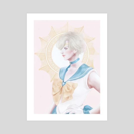 Sailor Uranus by Cathy Tran