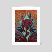Silence - Art Card by Bazteki