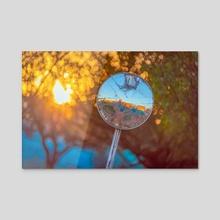 Sunset Mirror - Acrylic by Mike Kowalek