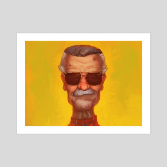 Stan Lee by Danny Dufford