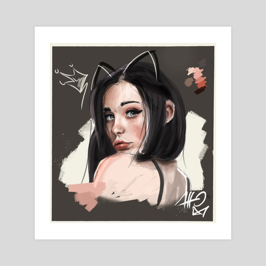 -Girl Portrait- 01 by Atto Ink