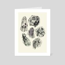 Weird mushrooms - Art Card by Batorchids