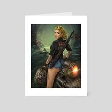 Zombie hunter - Art Card by Jab Jira