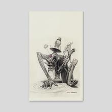 Kaptimal Nontimaebo - Acrylic by Charles Lister
