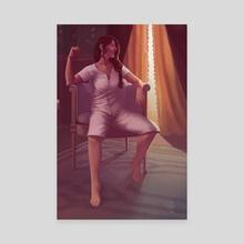 Gentleman Jack 8 - Canvas by Mali Ware