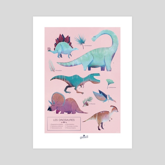 Les Dinosaures by öckto Lambert