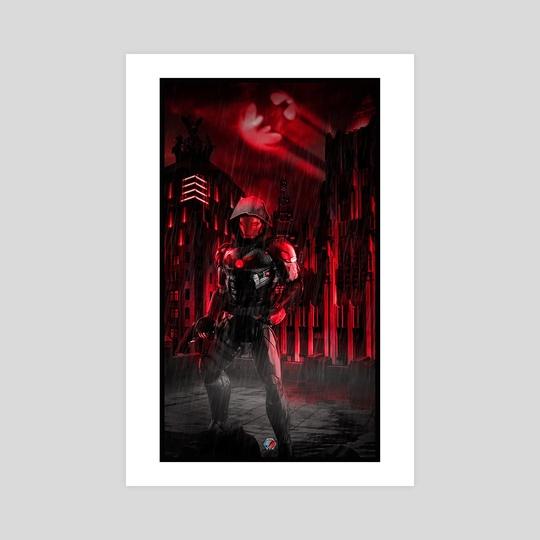 Iron Redhood  by Samuel Iniguez