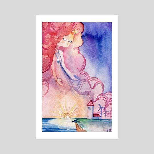 Lady Sunset by Vivian Z