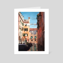 Venice - Art Card by Maddy