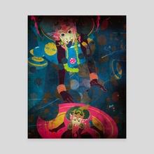 monkey n - Canvas by wudufu