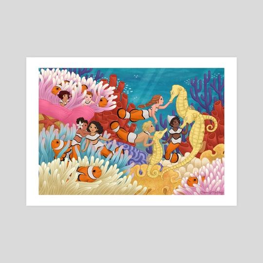 Clownfish by Nancy Muller