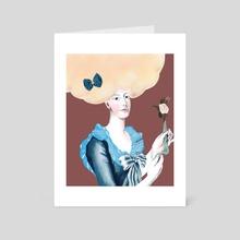 Marie Antoinette  - Art Card by Thalia Roman