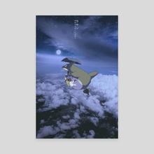 Totoro - Canvas by Obnubilant  ラヤン
