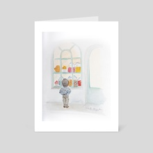 Sweets - Art Card by Cécile Congost