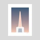 Transamerica Pyramid, 3 - Art Print by Chris Cerrato