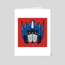 Optimus Prime - Art Card by Animesh Tewari