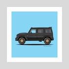 Mercedes G Wagon - Art Print by Animesh Tewari