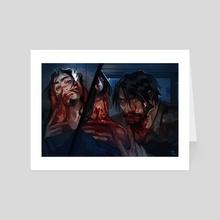 Vamp! Mchanzo - Art Card by Bek  L.