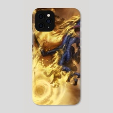 Fel Immolation - Phone Case by Greg Staples