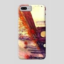 Queensboro Bridge - Phone Case by Maja Wrońska