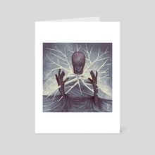 Spiked Collar - Art Card by David Rivera